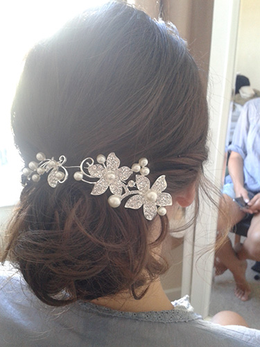 wedding hair and beauty make-up